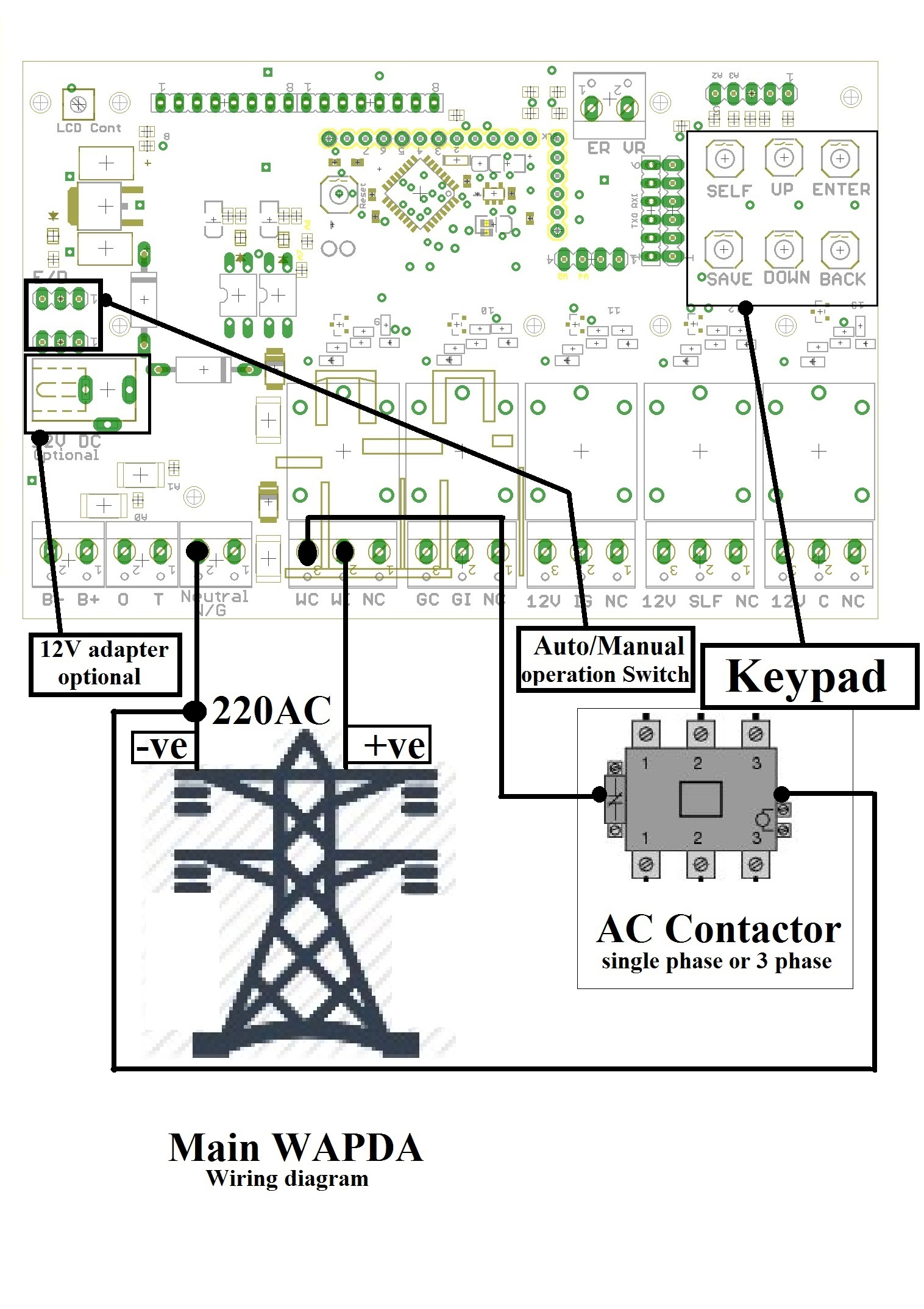 Ats Automatic Transfer Switch Mains Generator Controller Start Control Wiring Diagram App Image