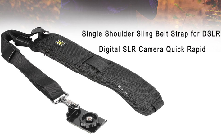 Quick Sling Camera Single Shoulder Belt Strap Dslr Slr