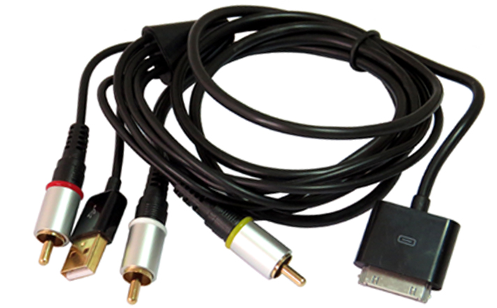 how to connect iphone to tv with rca cables