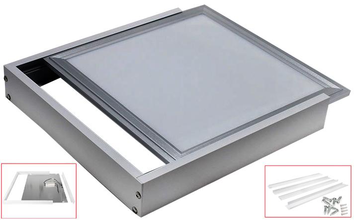 Surface Mount Frame Kit Led Panel Light Ceiling Aluminium
