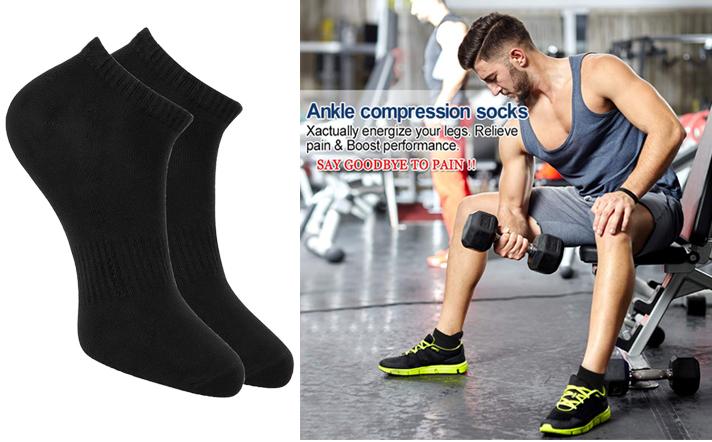 6 Paires Homme Trainer Liner socquettes Funky Designs Adultes Chaussettes De Sport 6-11