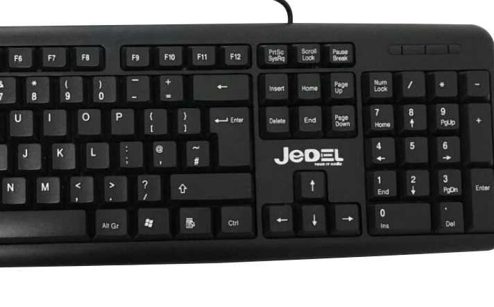 usb 2 0 wired stylish slim qwerty keyboard uk layout for pc computer laptop new ebay. Black Bedroom Furniture Sets. Home Design Ideas