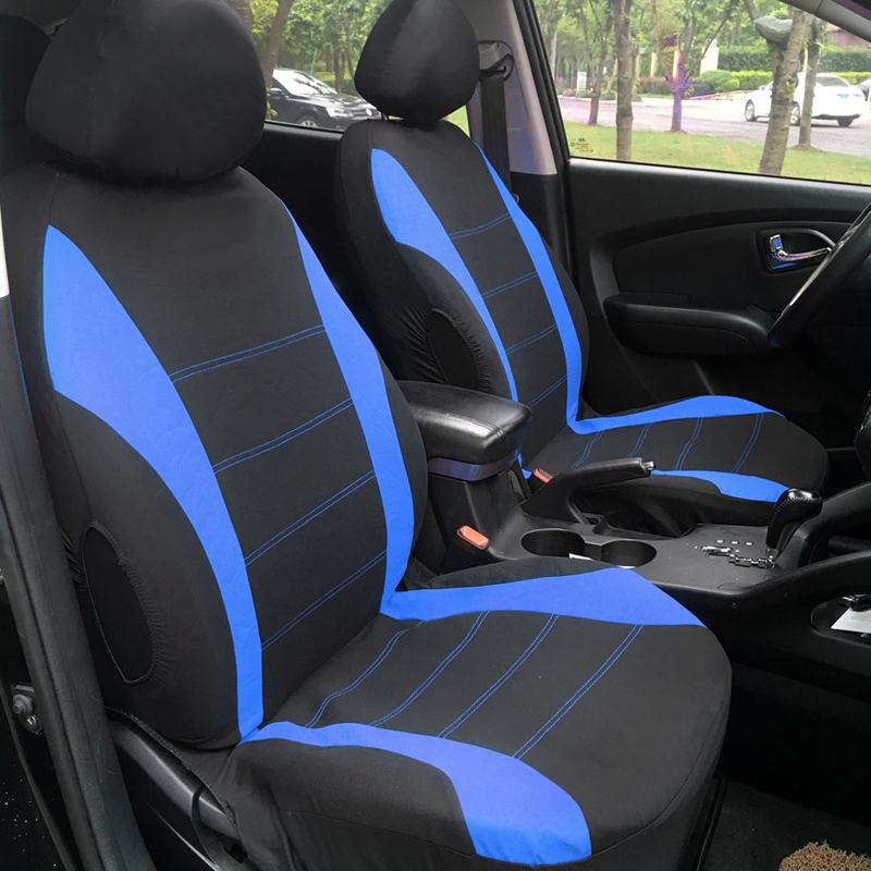 car seat covers protectors universal washable full front rear airbag compatible ebay. Black Bedroom Furniture Sets. Home Design Ideas