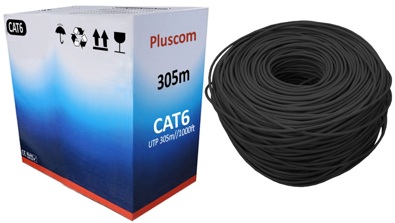 305m Roll Rj45 Cat6 Ethernet Network Cable Utp Outdoor