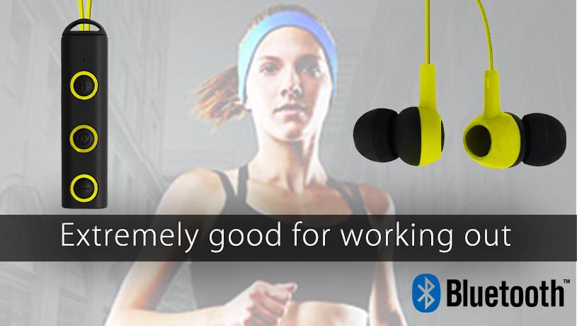 Earphones bluetooth wireless bass - earphones with microphone extra bass
